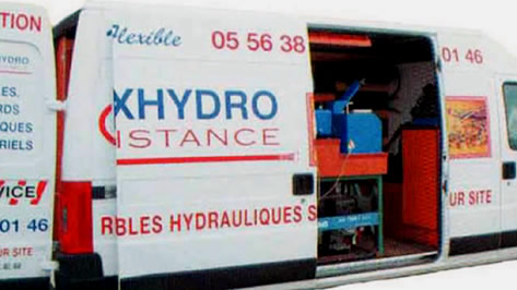 Des Interventions hydraliques